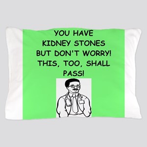 funny doctor joke Pillow Case