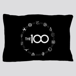 The 100 The Clan Symbols Pillow Case