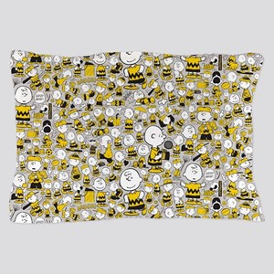 Peanuts Charlie Brown Collage Pillow Case
