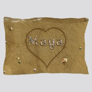 Maya Beach Love Pillow Case