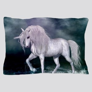 Wonderful unicorn on the beach Pillow Case
