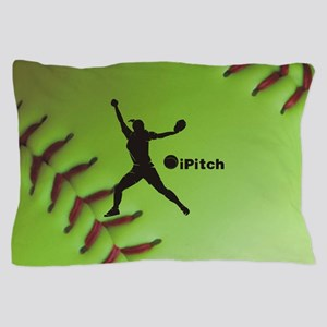 iPitch Fastpitch Softball (right hande Pillow Case