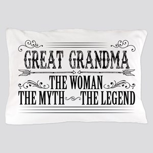 Great Grandma The Legend... Pillow Case