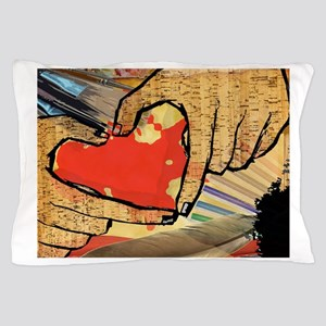 Heart of an Artist Pillow Case