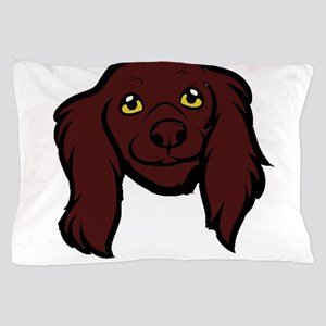 boykin spaniel head Pillow Case
