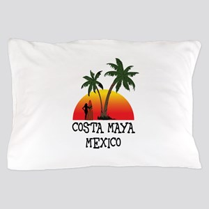 Costa Maya Mexico Sunset Pillow Case
