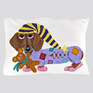 Dachshund Bedtime Pillow Case