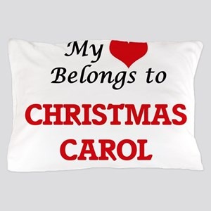 My heart belongs to Christmas Carol Pillow Case
