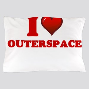 I love Outerspace Pillow Case