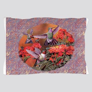 3 Hummingbirds Pillow Case