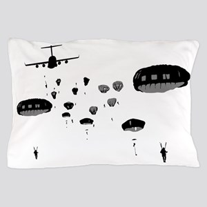 Parachuting Pillow Case