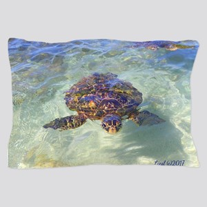 Honu Peek-a-boo Pillow Case