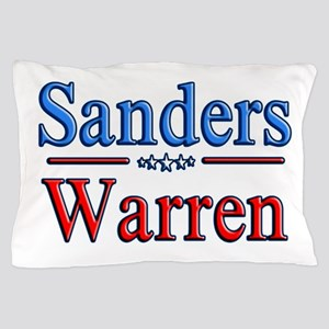 Bernie Sanders/Elizabeth Warren (2020) Pillow Case