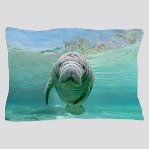 Baby Manatee Pillow Case