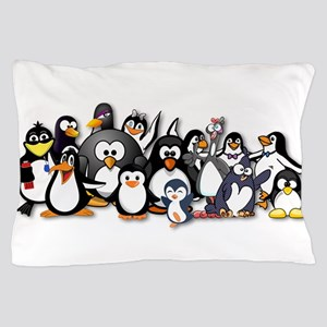 Penguins Pillow Case