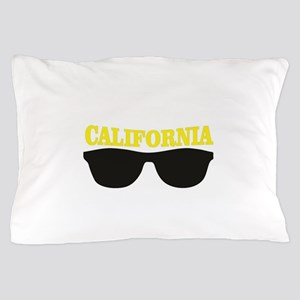 yellow cali shades Pillow Case