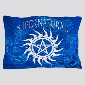Supernatural Blue Pillow Case