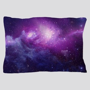 Purple Space Pillow Case