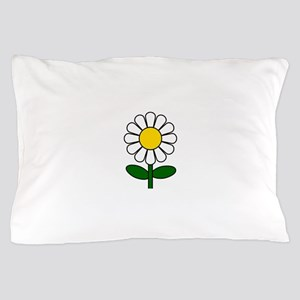 Daisy Flower Pillow Case