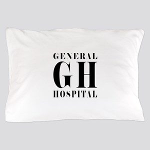 General Hospital Black Pillow Case