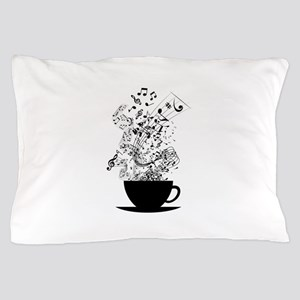 Cup of Music Pillow Case