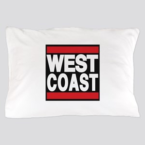 west coast red Pillow Case