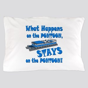 On The Pontoon Pillow Case