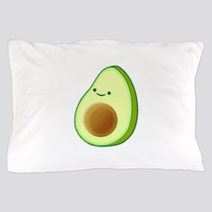 Cute Avocado Drawing Pillow Case
