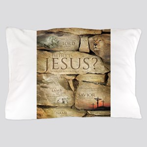 Names of Jesus Christ Pillow Case