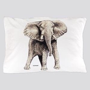 Elephant Animal Pillow Case