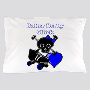 Roller Derby Chick Pillow Case