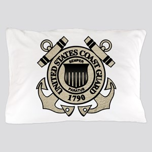 cg_blk Pillow Case