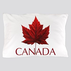 Canada Flag Maple Leaf Pillow Case