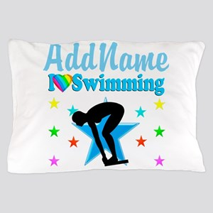 SWIM TEAM Pillow Case