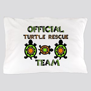 Official Turtle Rescue Team 1 Pillow Case