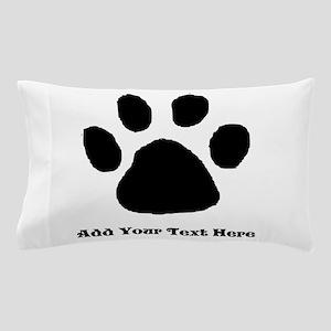 Dog Paw Print Pillow Cases - CafePress