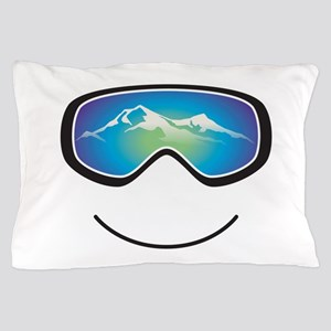 Happy Skier/Boarder Pillow Case