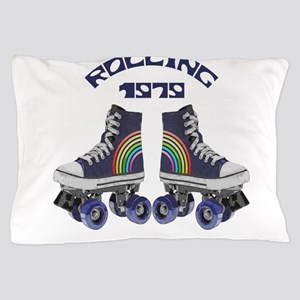 Rainbow Rolling 1979 Pillow Case