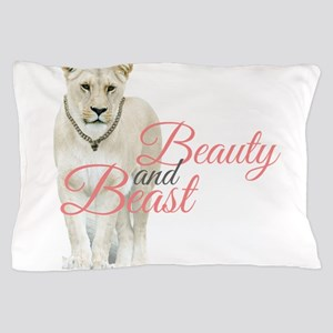 Beauty and Beast Pillow Case