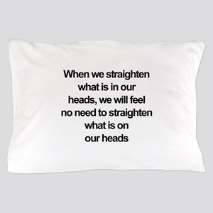 African American quote Pillow Case