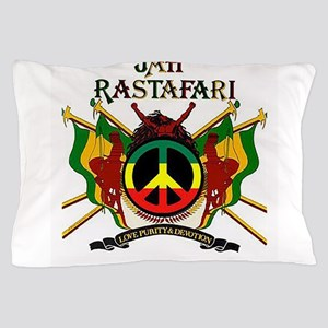 Jah Rastafari Pillow Case