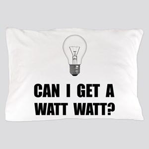 Watt Watt Light Bulb Pillow Case