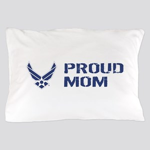 USAF: Proud Mom Pillow Case
