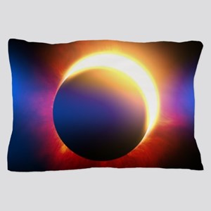 Solar Eclipse Pillow Case