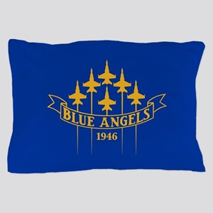 Blue Angels Fighter Planes Pillow Case