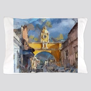 Antigua Guatemala Arch Pillow Case