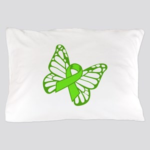 Lymphoma Butterfly Pillow Case