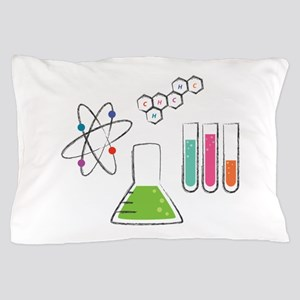 Chemistry Atoms Pillow Case