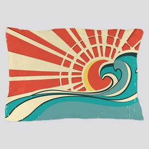 wave at dawn Pillow Case