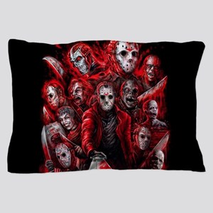 12 Jasons Friday the 13th Pillow Case